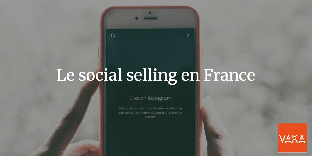 Le social selling en France