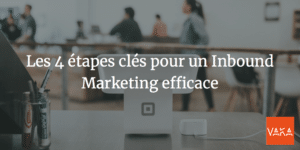 Les 4 étapes clés pour un Inbound Marketing efficace